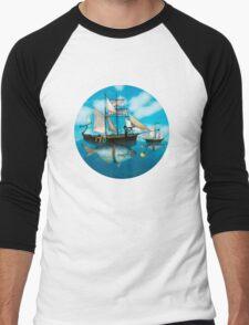 Sea Journey Men's Baseball ¾ T-Shirt