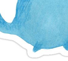 The Enigmatic Pudding Whale Sticker