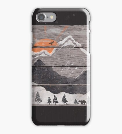 Into the Grey... iPhone Case/Skin