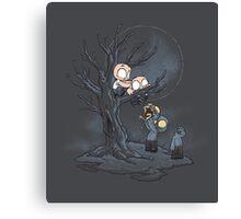 Zombie Ingenuity Canvas Print