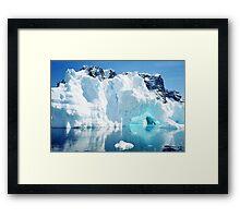 Magic Ice Cave Framed Print