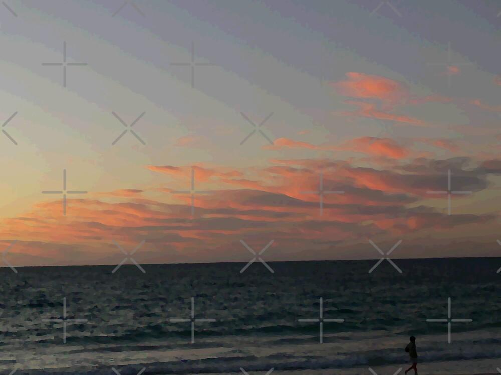 Sunset at Port Beach#2 by Sandra Chung