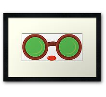Ziggs Goggles League of Legends Framed Print