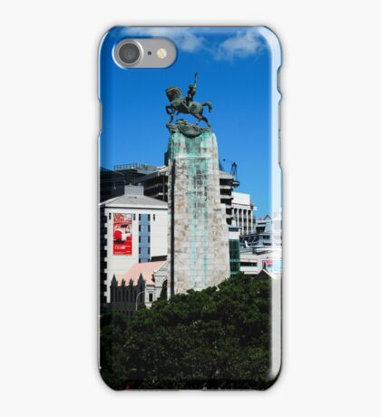 Mounted Horseman War Memorial iPhone Case/Skin