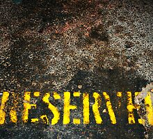 RESERVED by Stephen Mitchell