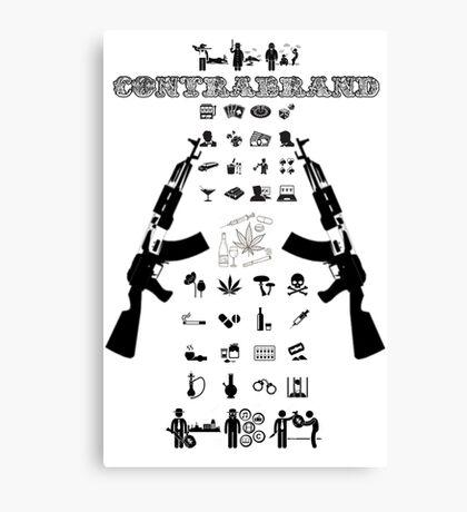 ContraBrand Logo Canvas Print
