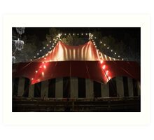Comedy big top Art Print