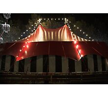 Comedy big top Photographic Print