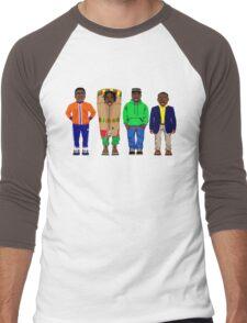 Cool Runnings to Calgary Men's Baseball ¾ T-Shirt