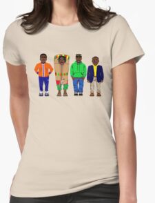 Cool Runnings to Calgary Womens Fitted T-Shirt
