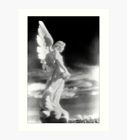 angel stillness Art Print