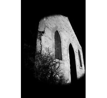 abandoned church Broken Hill infrared Photographic Print