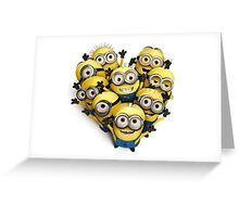 Case minions Greeting Card