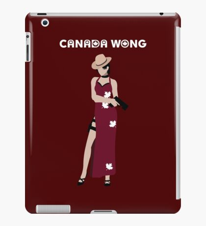 Can-Ada Wong iPad Case/Skin
