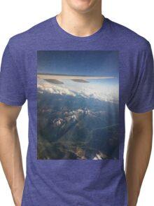 Cool airplane view Tri-blend T-Shirt