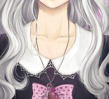 Pastel Goth Girl by ellieinthesky