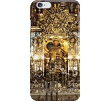 The altar of St James in Santiago de Compostela 02 iPhone Case/Skin