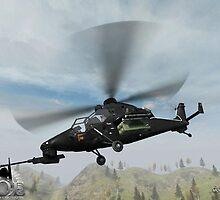 Eurocopter Tiger Ingame by SenorFreebie