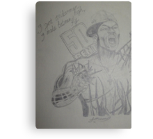 50 Cent - I got Spider man high I made Batman fly Canvas Print