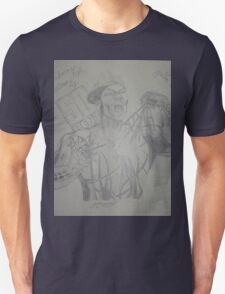 50 Cent crossed with Spiderman Drawing T-Shirt