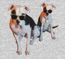 Nothings merrier than a Pitbull Terrier! Baby Tee