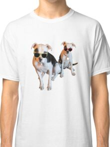 Nothings merrier than a Pitbull Terrier! Classic T-Shirt