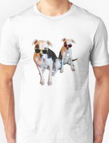 Nothings merrier than a Pitbull Terrier! Unisex T-Shirt