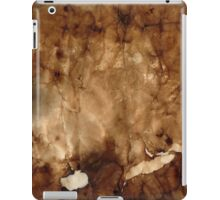 Burned paper II iPad Case/Skin