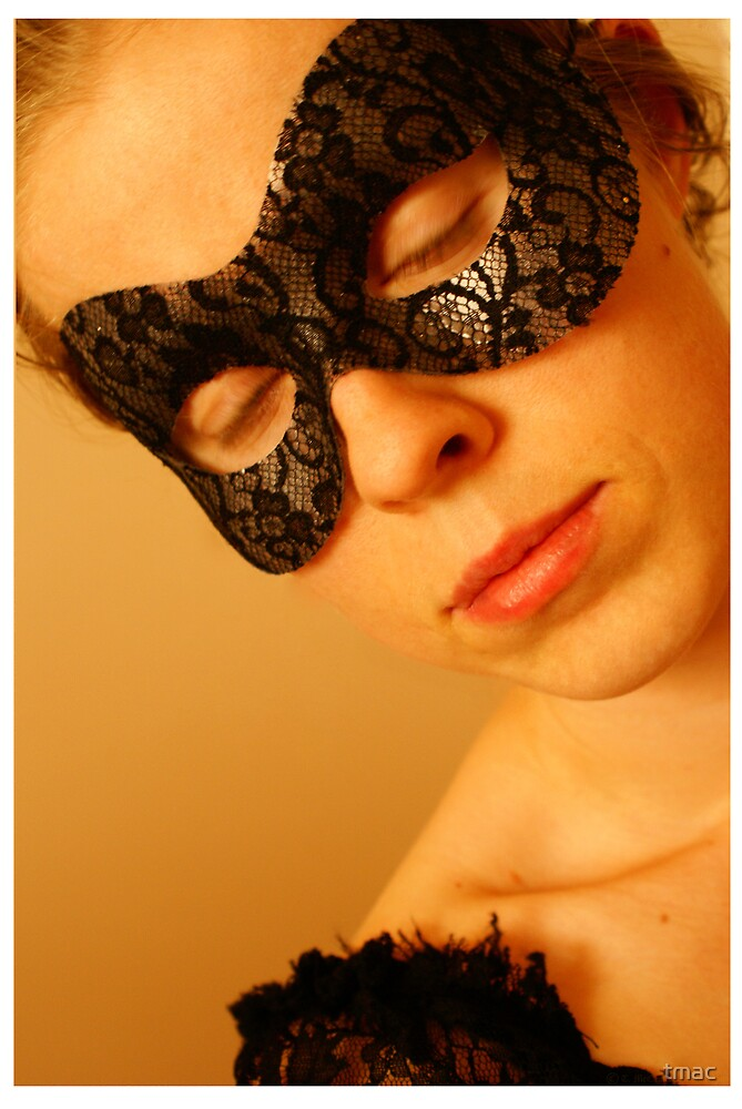 T Mac Masquerade Self Portrait 2 by tmac
