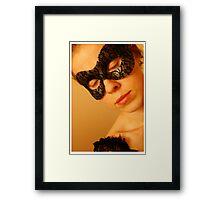 T Mac Masquerade Self Portrait 2 Framed Print