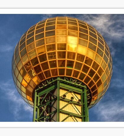 Knoxville Tennessee Sunsphere  Sticker
