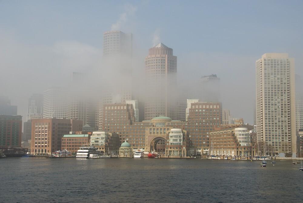 Boston in Fog by Craig Goldsmith