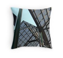 Glass ceilings Throw Pillow