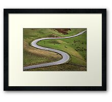 From Point A to Point B Framed Print