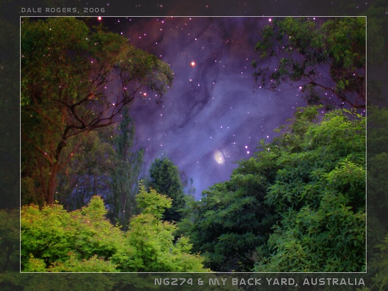 NG274 in My Backyard by dale rogers