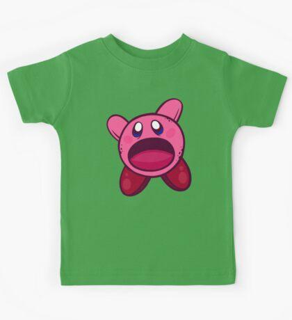 Hungry Hungry Kirby Kids Tee