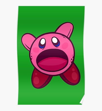 Hungry Hungry Kirby Poster
