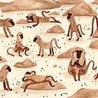 Baboons by Sophie Corrigan