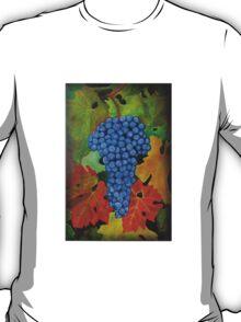 California Wine Terravina Grapes T-Shirt