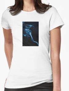 Blur Lady Womens Fitted T-Shirt