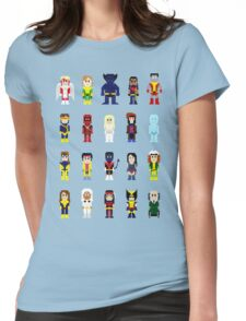 8-Bit Super Heroes 2: The Mutant-ing! Womens Fitted T-Shirt
