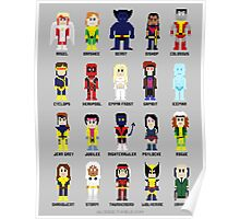 8-Bit Super Heroes 2: The Mutant-ing! Poster