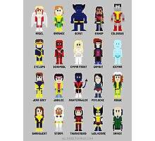 8-Bit Super Heroes 2: The Mutant-ing! Photographic Print