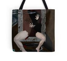 Behind the Scream Tote Bag