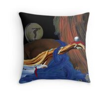 Durmiendo con Suenos (Sleeping with Dreams) Throw Pillow
