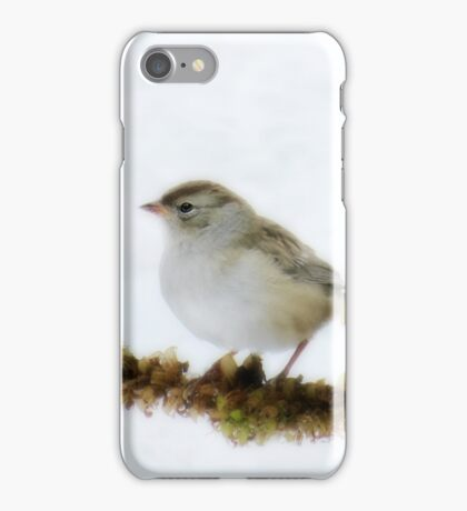 A LITTLE BIRDIE TOLD ME SO  iPhone Case/Skin