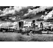 The Thames and City of London Photographic Print