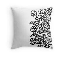 Pen work Throw Pillow
