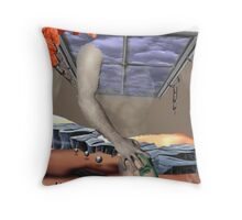 Harvesting Balance Throw Pillow