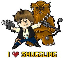 I heart smuggling by WarpZoneGraphic